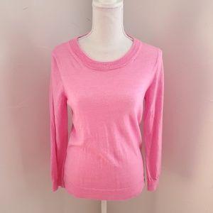 J Crew Pink Merino Sweater M